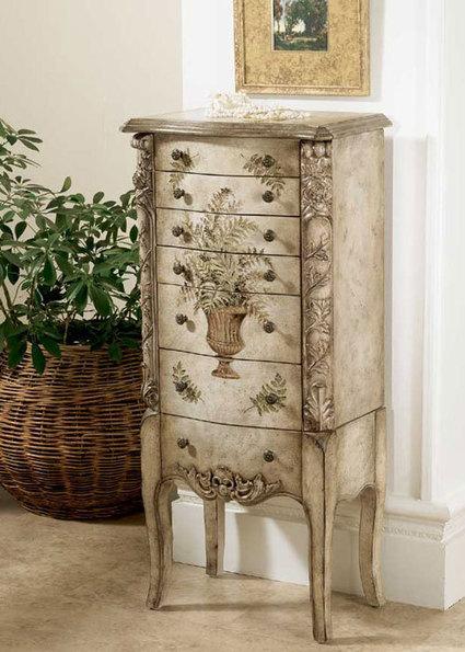 Fotos e ideas para decorar un mueble blanco - Como pintar un mueble de blanco ...