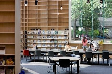 Japon : les étranges étagères de la Bibliothèque Musashino Art University | BiblioLivre | Scoop.it