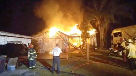 "Florida sex party house dubbed the ""Sausage Castle"" destroyed by fire 