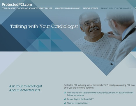Protected PCI for Patients = > Doctor Discussion Guide for your Cardiologist | Heart and Vascular Health | Scoop.it