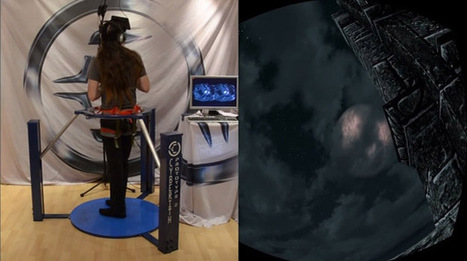 Skyrim virtual reality demo uses Oculus Rift and omnidirectional treadmill | Games | Geek.com | It's All Social | Scoop.it