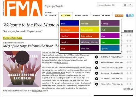 Free Music Archive, gran colección de música libre para usar en nuestros proyectos | Gestión empresarial | Scoop.it