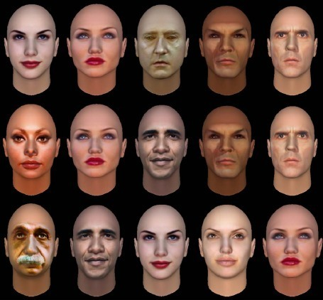 Software Matches Facial Features with Personali...