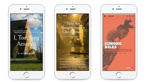 Journalism That Stands Apart | Museums and emerging technologies | Scoop.it