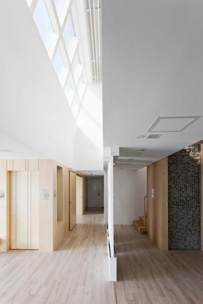 E+ Green Home. Architectes :  Unsangdong Architects   Ageka les matériaux pour la construction bois.   Scoop.it