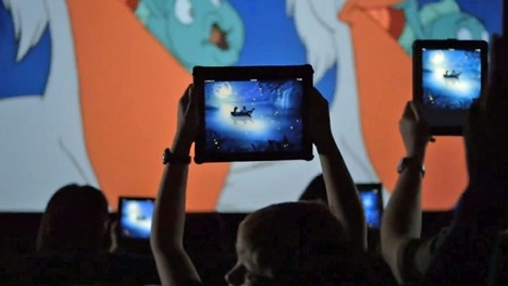 Disney Wants You to Bring Your iPad to 'The Little Mermaid' Movie | Transmedia: Storytelling for the Digital Age | Scoop.it