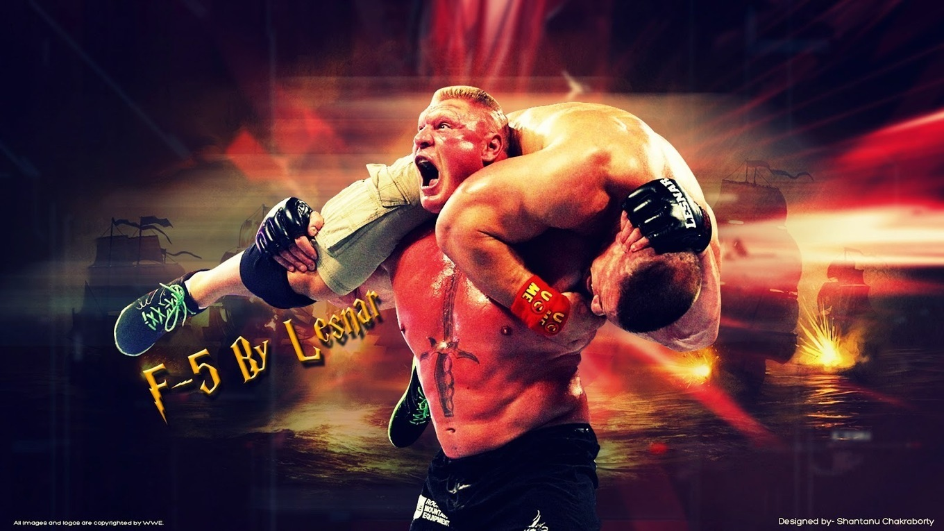 Brock Lesnar F5 Hd Images All About Wallpaper