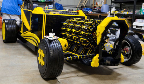Drivable 500,000 piece Lego car runs on compressed air, insanity (video) | Architecture, design & algorithms | Scoop.it
