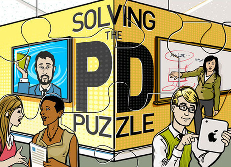 Solving the PD Puzzle - T.H.E. Journal | Flipped Professional Development | Scoop.it