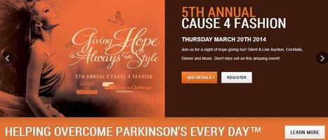 Fifth Fashion Forward Fundraiser for Parkinson's Disease | #ALS AWARENESS #LouGehrigsDisease #PARKINSONS | Scoop.it