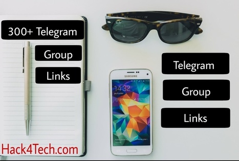Telegram Group link - Join 300+ Indian Telegram