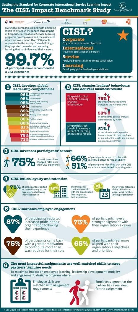 CISL Impact Benchmark Study | Global examples of corporate volunteering & workplace giving | Scoop.it