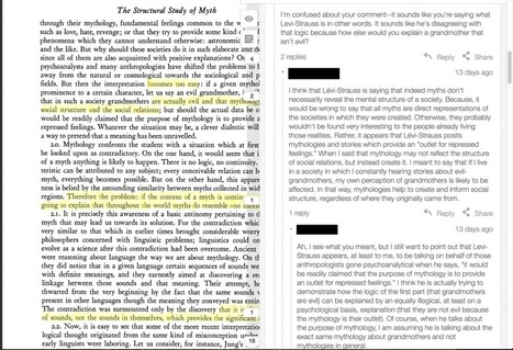 Better Reading Through Annotating: An Anthropology Example | eLearning, Medical Education and Other Snippets | Scoop.it