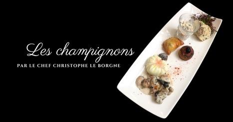 Les champignons : 5 recettes par Christophe Le Borgne | Cuisine et cuisiniers | Scoop.it