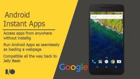 Android Instant Apps de Google est désormais en cours de test | Référencement internet | Scoop.it