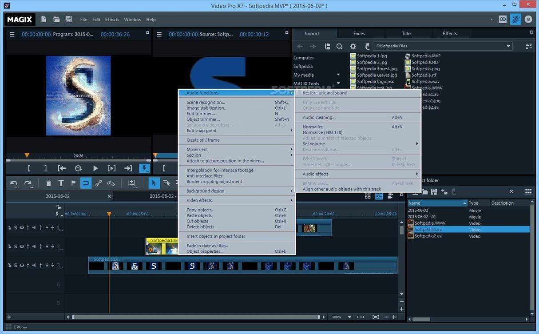 magix video pro x7 serial key