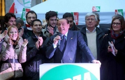 Berlusconi ritorna in piazza per il No Tax Day | Politikè | Scoop.it