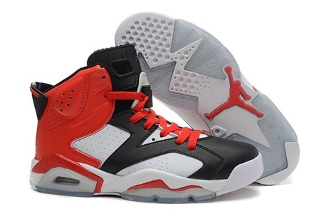 huge discount 9ce66 905ca Nilssons-skor-Nike-Air-Jordan-VI-6-Retro-Herr-Skor-Pa-Natet-Svart-Vit-Rod-Ny.jpg  (693x454 pixels)
