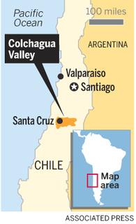 Chile's Colchagua Valley: 10 steps for a whirlwind wine tour - San Jose Mercury News | Whiskey, Beer & Wine Stuff | Scoop.it