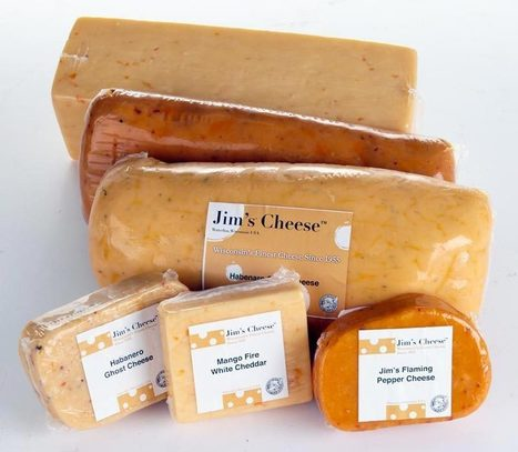 Jim's Cheese | Hot Cheeses: Mango Fire, Habanero, Flaming Pepper, Products | The Euphoria of Capsaicin | Scoop.it