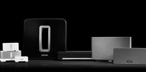 Le système audio de Sonos, la chaîne hi-fi connectée et multi-room - Challenges.fr | inalia | Scoop.it