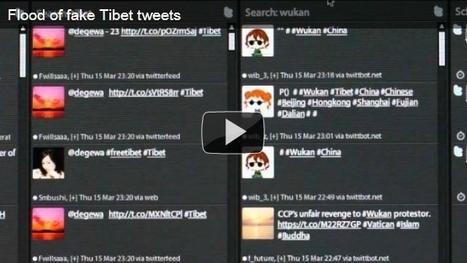 Twitter Bots Target Tibetan Protests   Twitter Bots   Scoop.it