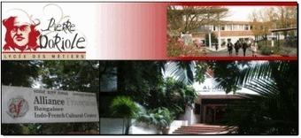 L'échange entre Doriole - La Rochelle / @AF Bangalore-  Français Mathadona !   Etandems, exemples et conseils   Scoop.it