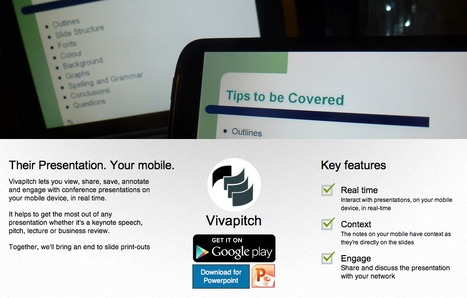 Vivapitch - View, Share, Save, Annotate, Engage - For Presentations | Better teaching, more learning | Scoop.it