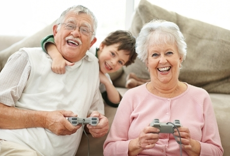 Les jeux vidéo freinent le déclin mental des seniors | Cyber Seniors & Cie | Scoop.it