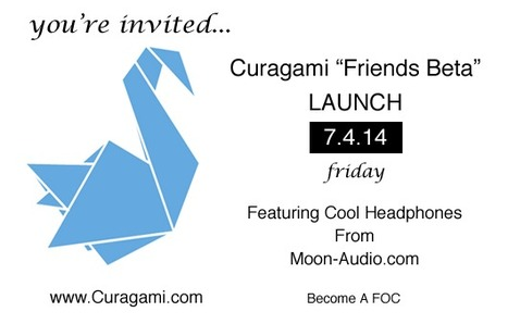 Curagami Launching Into Friends Beta 7.4.14 - Help A Startup on the 4th of July via @Curagami | Startup Revolution | Scoop.it