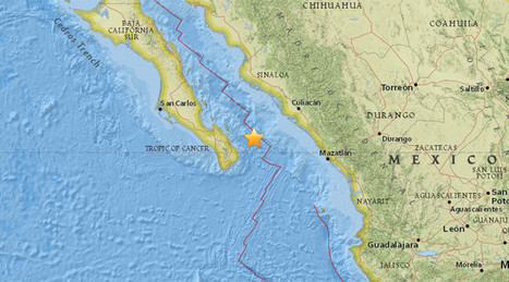 5.3 quake in Mexico Sea of Cortez, 119km northeast of San Jose del Cabo - USGS | Cabo San Lucas | Scoop.it
