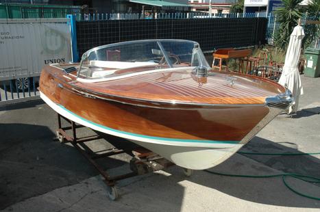 Barca Rio Panamà in vendita a Salerno in buone condizioni generali | Nautica-epoca | Scoop.it