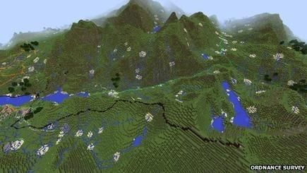 Minecraft map of UK adds houses - BBC NEWS | TIC, educación y demás temas | Scoop.it
