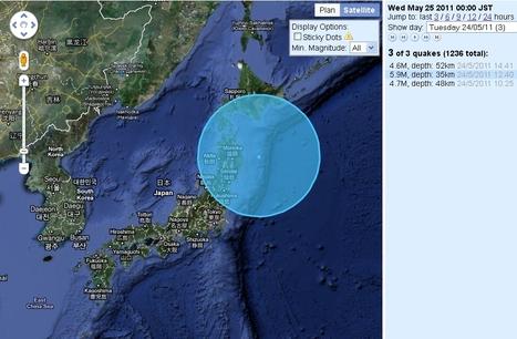 Japon: un séisme de 6 degrés frappe le large de la côte est du pays | AtlasInfo.fr | Japon : séisme, tsunami & conséquences | Scoop.it