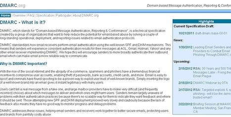 Les géants du Net s'unissent contre le spam   Web Marketing Magazine   Scoop.it