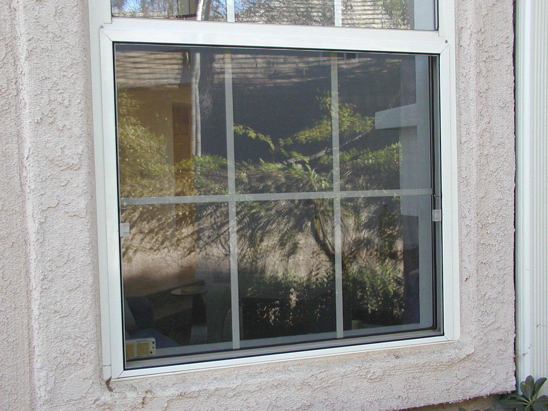 Window screen standard basement window for Custom replacement windows
