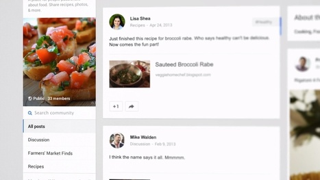 Communautés Google+ : il est maintenant possible d'épingler un statut - Geeks and Com' | Adopter Google+ | Scoop.it