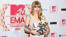 MTV Europe: Taylor Swift y Justin Bieber los mas premiados