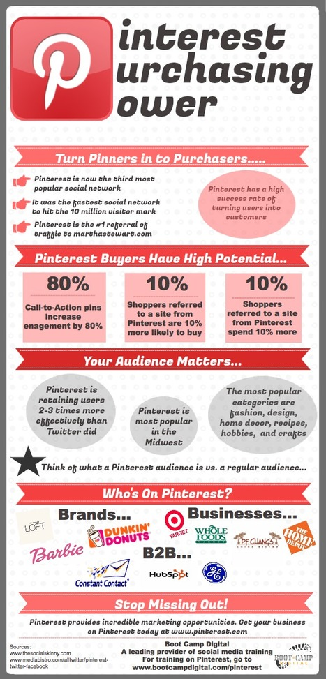 Pinterest Purchasing Power Infographic | Social Media Epic | Scoop.it