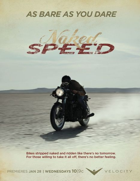 "Cafe Racer TV is now ""Naked Speed"" 