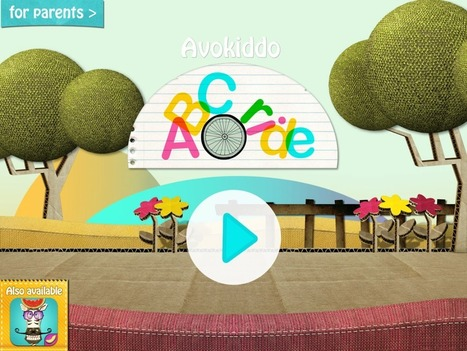 Avokiddo ABC Ride | Apps for Children with Special Needs | Scoop.it