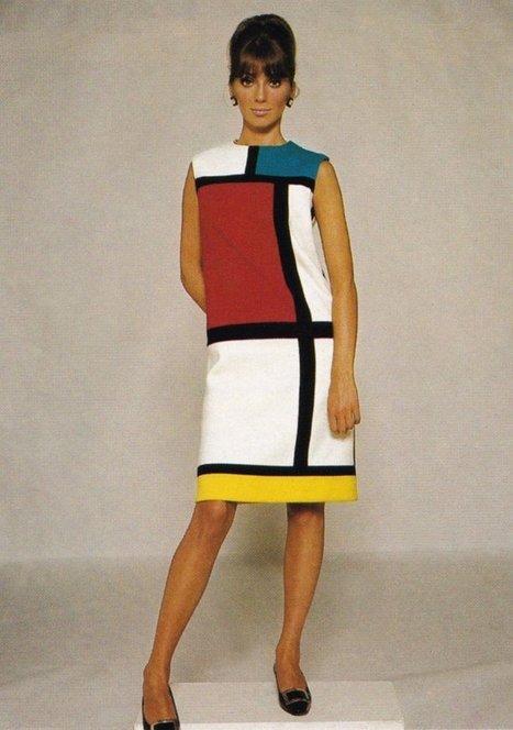El día que Mondrian salvó la carrera de Yves Saint Laurent 119652f97260