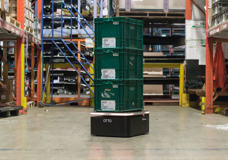 Miniaturized Sibling of OTTO Material Handling Robot Joins Clearpath Fleet   Robotic applications   Scoop.it