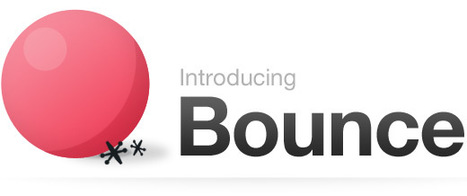 Bounce – A fun and easy way to share ideas on a webpage | Blended Learning - Collaboration | Scoop.it