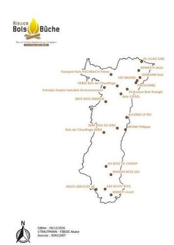 La place du bois de chauffage en Alsace | Bois, forêt, construction, bois énergie, ameublement et plus | Scoop.it