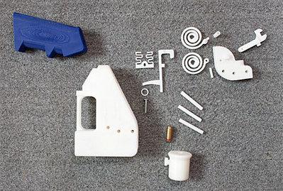 Así funciona una pistola fabricada en una impresora 3D | 3D Curious & VFX | Scoop.it