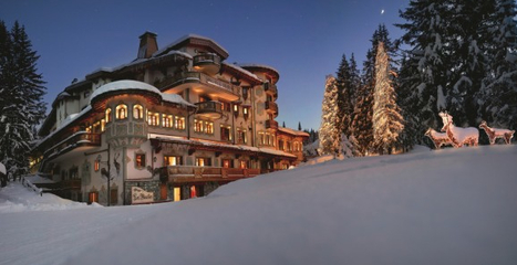 "Le Palace Les Airelles (Courchevel) élu ""Meilleur Hôtel de Montagne en France"" 