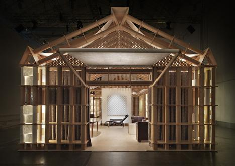 shigeru ban l 39 architecte du carton meuble en. Black Bedroom Furniture Sets. Home Design Ideas