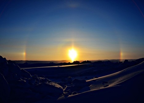 Ice crystal halo seen from Canada's Northwest Territories hamlet of  Paulatuk | EarthSky.org | NWT News | Scoop.it