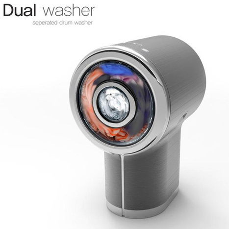 Dual Washer – Washing Machine Concept | Art, Design and Technology | Scoop.it